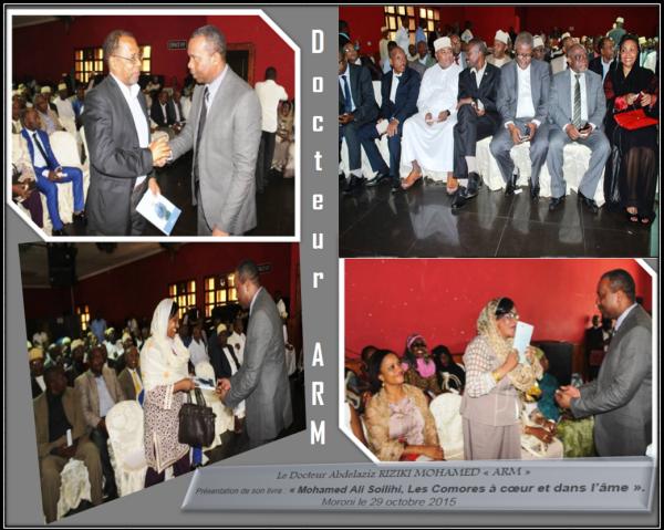 Le retour fracassant d'Abdelaziz RIZIKI < ARM > en union des Comores !