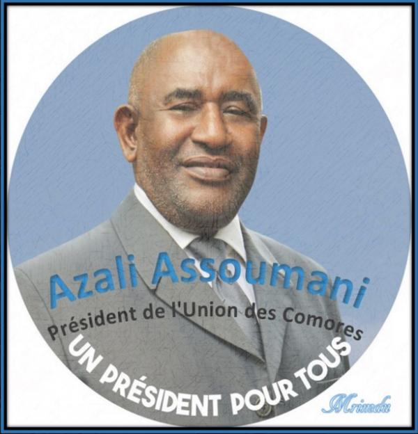 Election présidentielle : Haut la main, Azali est élu Président de l'Union des Comores