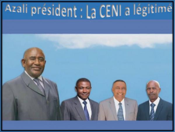 Le Grand retour de la Crc après la parenthèse de 10 ans : Azali Président, la CENI a légitimé les résultats