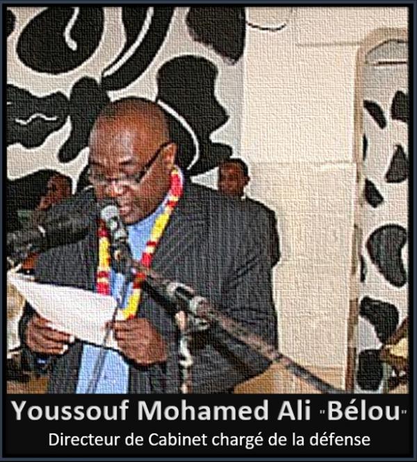 Monsieur Youssouf Mohamed Ali , nouveau Directeur de Cabinet chargé de la défense