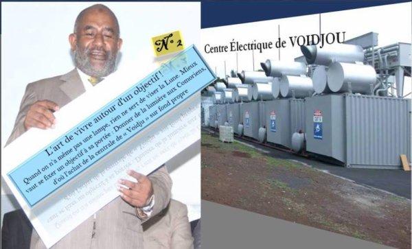 Solution immédiate pour l'énergie aux Comores