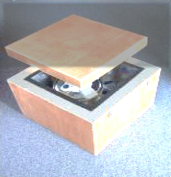 Qu'est-ce que c'est que cette boite entre l'ombre et le soleil : Elle s'ouvre ou elle se ferme ?