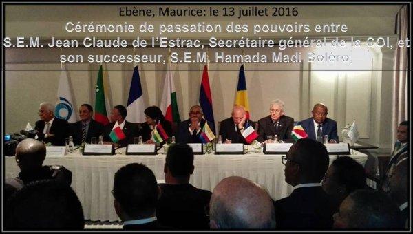Un an déjà depuis que Boléro a pris la direction de la Commission de l'Océan Indien !