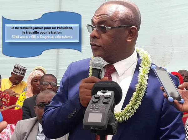 Anissi Chamsidine au Congrès SOMA : Je ne travaille jamais pour un Président, je travaille pour la Nation