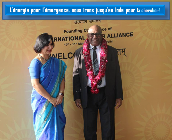 Voyage du président Azali en Inde : L'énergie pour l'émergence, nous irons jusqu'en Inde pour la chercher !
