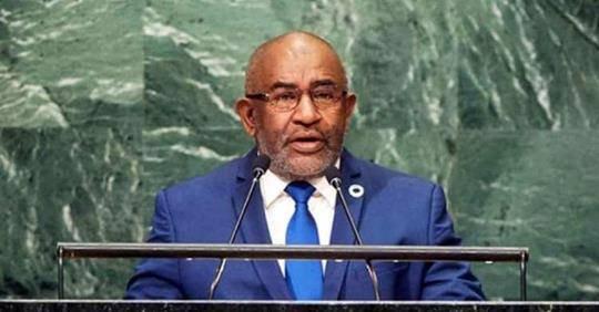 73ème Session Ordinaire de l'Assemblée Générale des Nations Unies : Discours de Son Excellence, Monsieur AZALI Assoumani,