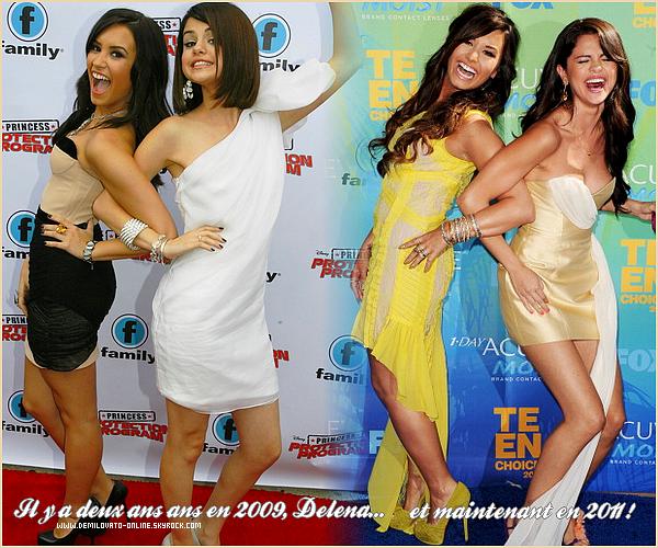 . Event : GORGEOUS ! . 07/08/11 : Demi Lovato était présente à la cérémonie des  « Teen Choice Awards 2011 ».  . . C'est vêtue d'une robe BCBG Max Azria que Demi a posé sur le tapis bleu de la célèbre cérémonie des « Teen Choice Awards 2011 ». Concernant la robe rien à dire, originale et j'aime la couleur qui s'associe parfaitement à son teint. Les accessoires, les chaussures, elle les a bien choisis. La coupe est superbe et pour cet événement qu'on attendait tous, Demi nous a fait un beau top  ! Et toi qu'en penses-tu ? . .