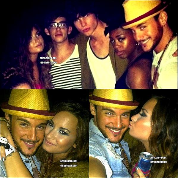 . Performance : Gorgeous ♥ . 23/09/11 : Demi Lovato a perfomé son deuxième concert au « Club Nokia » à L.A.    .