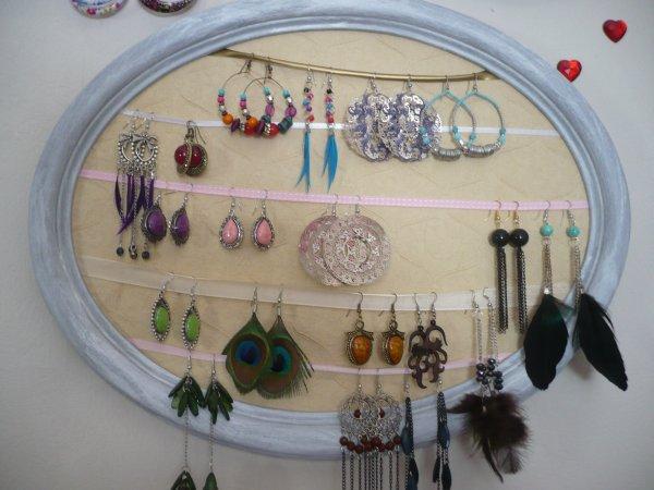 Que de belles histoires : idées pour cadres à bijoux !