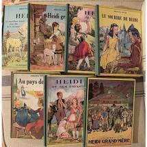 Livres Enfants  : Heidi de Johanna Spyri
