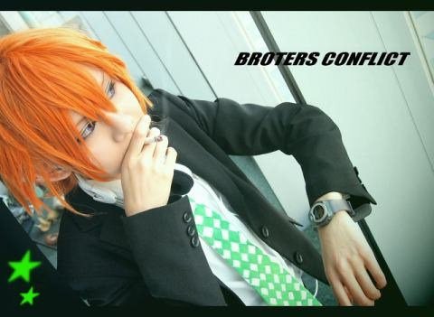Cosplays brothers conflict