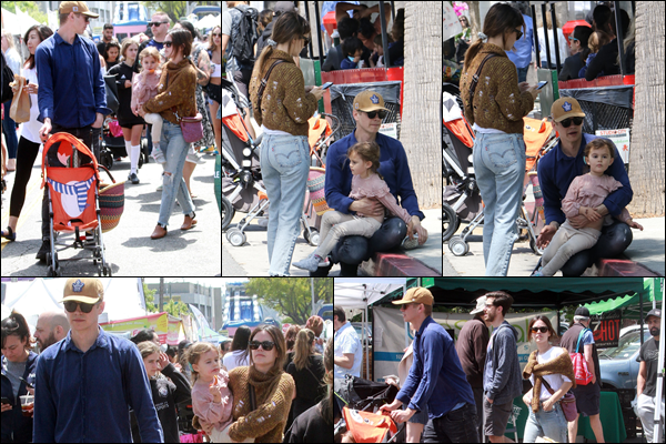 05.05.2019 :Rachel était avec son ex Hayden Christensen et leur fille au « Farmer's Market » à Studio City  Cela faisait un moment qu'on n'avait pas vu les deux ex ensemble avec leur fille Briar Rose c'est désormais chose faite avec cette sortie