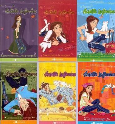 Le journal d'Aurélie Laflamme d'India Desjardins (auteure québécoise)........................................................Éditions: Les Intouchables