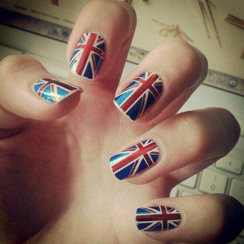 Vernis le drapeau anglais nouvel article maquillage de l 39 automne - Dessiner le drapeau anglais ...