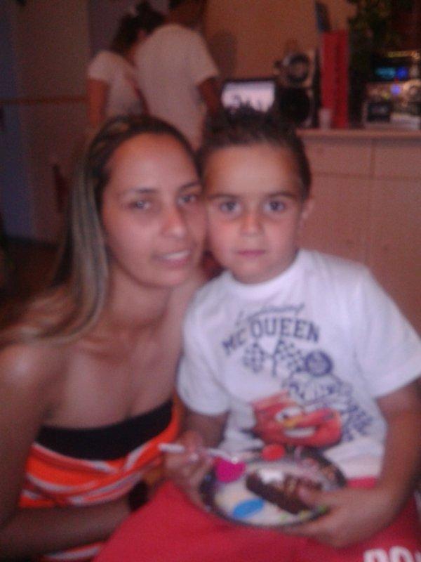 mon neveu que j'aime et moi