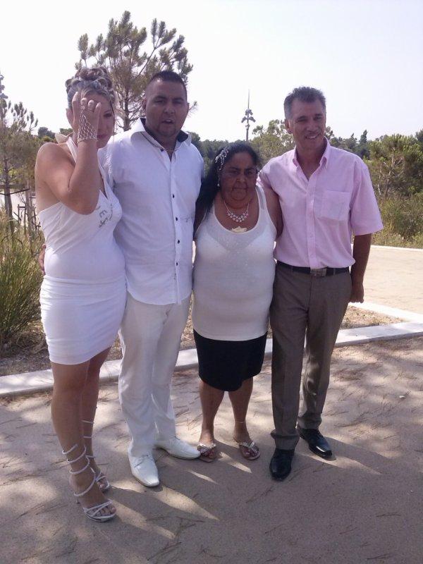 pour le mariage a mes parents mon frère David et Audrey