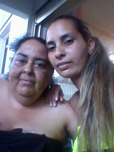 ma mère que j'aime et moi