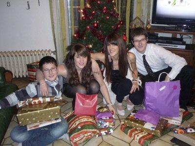 Noël en famille avec les loulous ^^