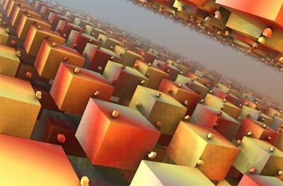 """Images fractale. J'ai utilisé le logiciel """"Mandelbulb"""" pour ces images.."""