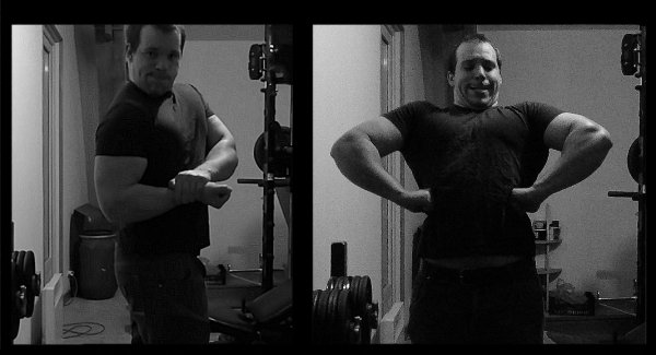 mon evolution apres 2 ANS et demi de musculation