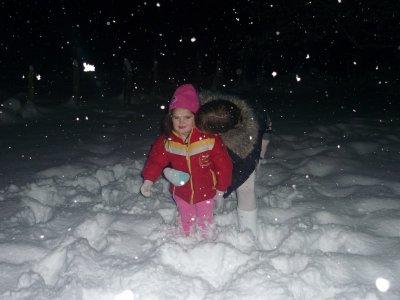 stacy dans la neige
