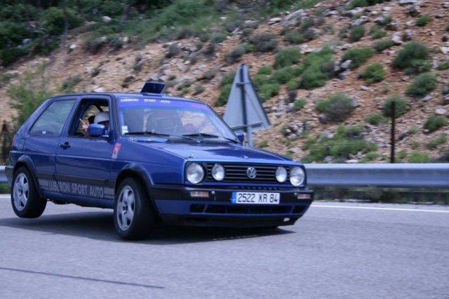 ATOMIC-CAR et la GOLF MK2 CIRCUIT
