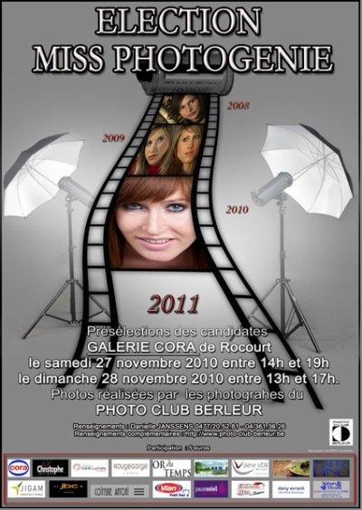 PHOTOGENIE 2011 c'est Bientôt :-)