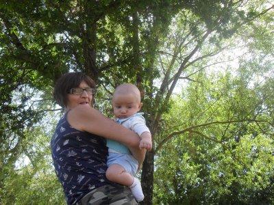 notre fils timéo et sa mémé