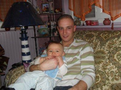timéo et son papa