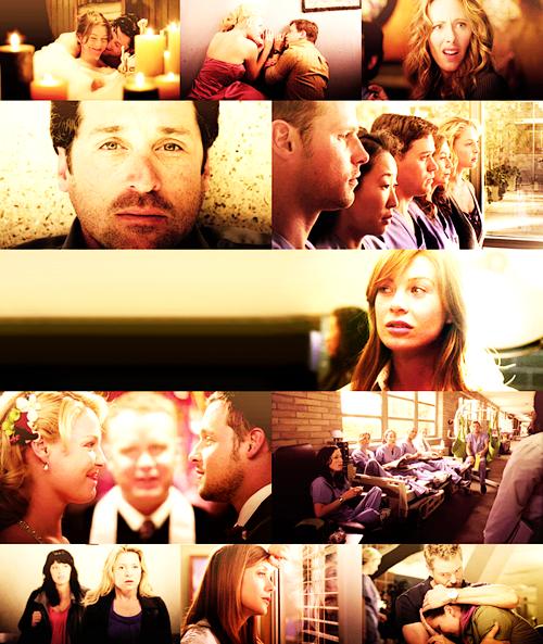« Je sais que c'est dur d'être celui qui s'en va. Mais bon sang, c'est pas non plus facile d'être celui qui reste. » Grey's Anatomy.