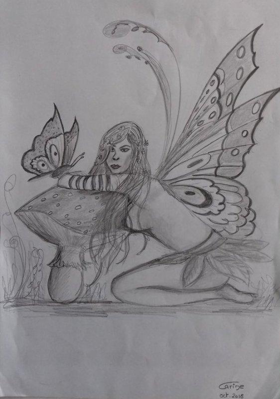 Fée papillon
