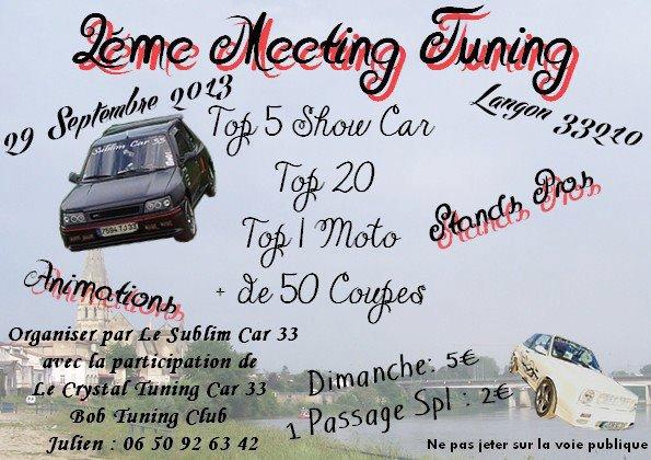 2 er Metingge de chez SUBLIM CAR 33 ! ! ! ! !