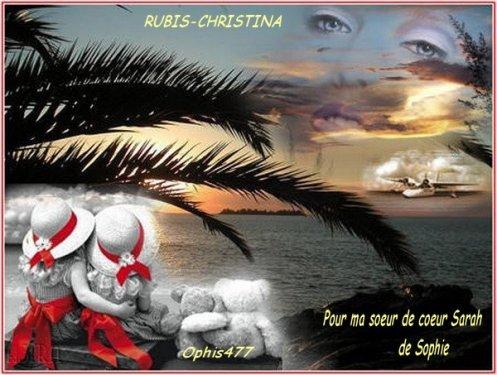 """"""" Cadeau pour ma soeur de (l) RUBIS-CHRISTINA """""""