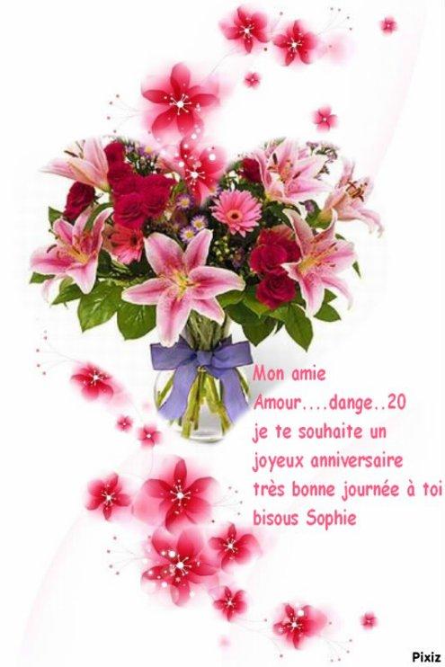 """"""" Cadeau pour mon amie Amour....dange..20 """""""