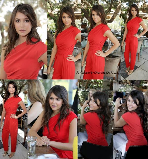 """Info Star:Nina était à la célébration """"Most Powerful Stylists Luncheon"""" un déjeuner pour les grands stylistes d'Hollywood (25 des plus influents) organisée par The Hollywood Reporter & Jimmy Choo à New York"""