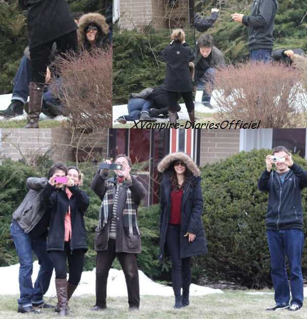Info Perso: Nina qui prend en photo les Paparazzis