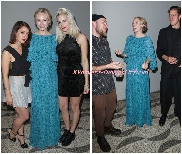 Info Star: Candice au Genart dinner party honoring LAFW fashion.