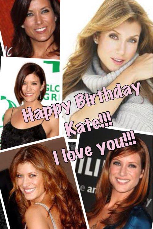 Joyeux anniversaire Kate (Addisson Montgomery) 45 ans sa se fete !!!