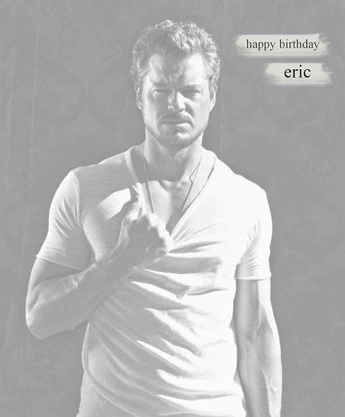 Happy birthday Eric (Mark Sloan) 40 ans sa se fete !!!