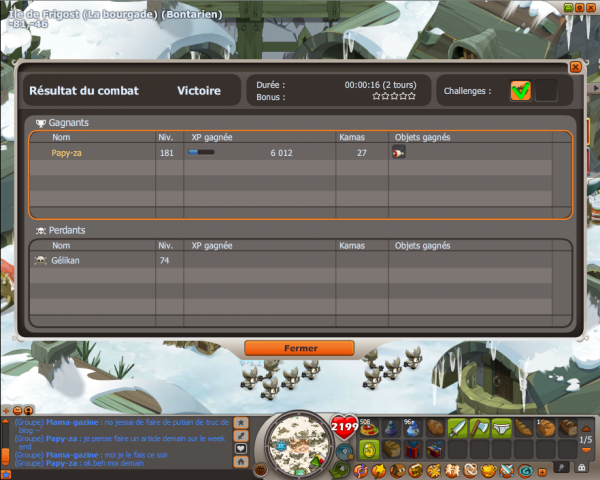 Monter son chasseur lvl 100