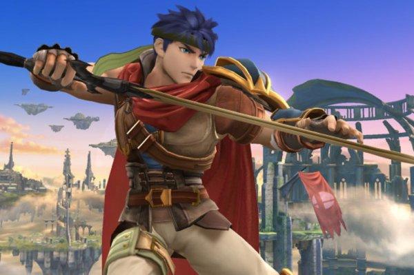 Ike, personnage de Fire Emblem (ici, Super Smash Bros Wii U)