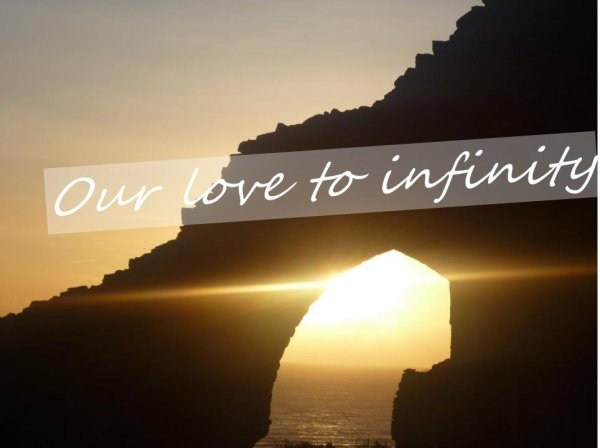 Our love to infinity