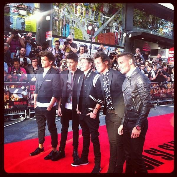Répertoire sur les fictions des One Direction