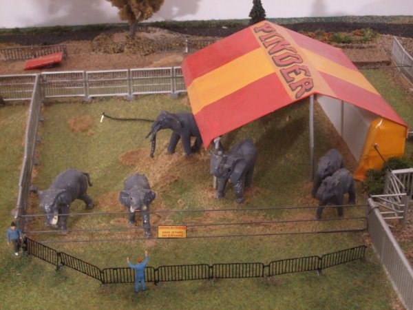 la troupe d'ELEPHANTS !