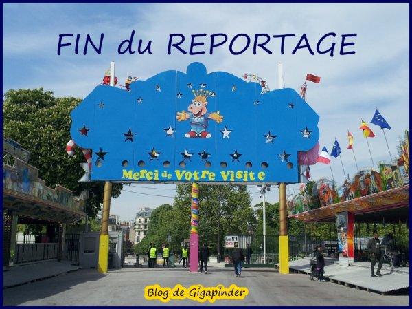 FOIRE DU TRONE  FIN DU REPORTAGE
