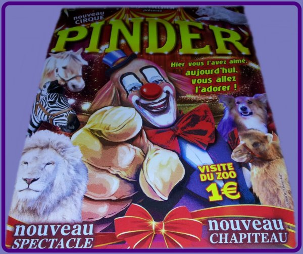 CIRQUE  PINDER JEAN-RICHARD ... SUITE DE LA TOURNEE