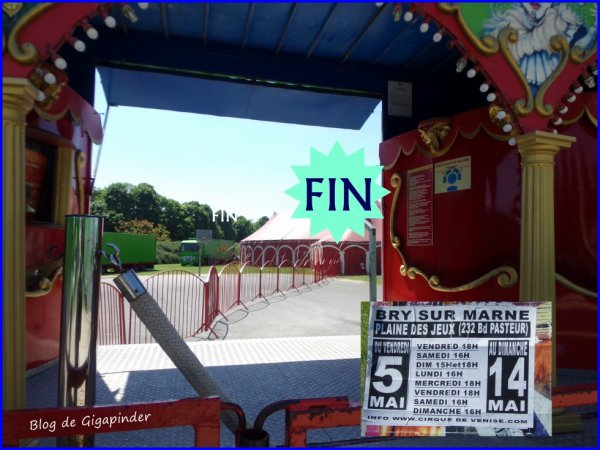 FIN DU REPORTAGE ...CIRCO DE VENISE 2017