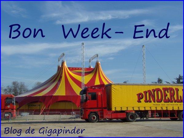 BON WEEK-END  A TOUS  !!