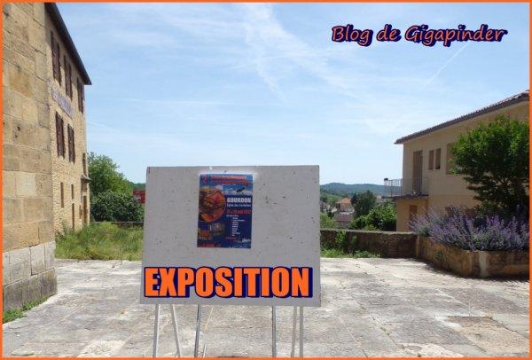 GOURDON  EXPO 2017   2 èm  SALON DU MODELISME ...AFFICHAGE