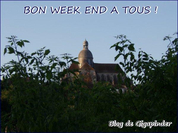 UN BON WEEK END A TOUS !!